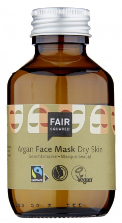 FAIR SQUARED Facial Mask Fluid - Dry Skin Argan 100ml ZERO WASTE