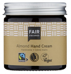 Fair Squared Hand Cream Sensitive Almond 50ml ZERO WASTE