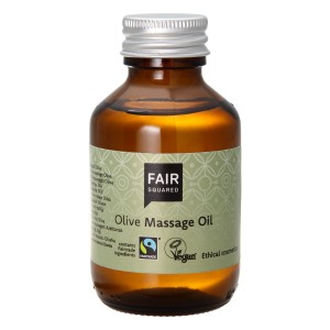 Fair Squared Massage Oil Olive 100ml ZEROWASTE
