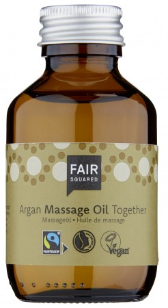 FAIR SQUARED Massage Oil Together 100ml ZERO WASTE