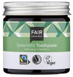 FAIR SQUARED Zahncreme Spearmint 50ml ZERO WASTE