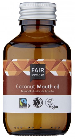 FAIR SQUARED Mundöl Coconut 100ml ZERO WASTE