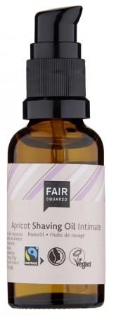FAIR SQUARED Shaving Oil Intimate Apricot 30ml ZERO WASTE