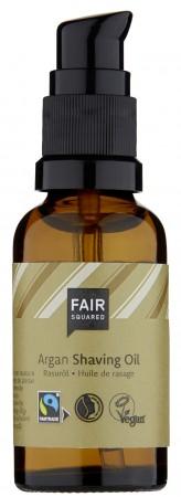 Fair Squared Shaving Oil Men Argan 30ml ZERO WASTE