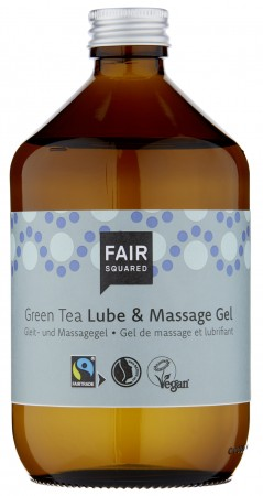 FAIR SQUARED Lube & Massage Gel Green Tea 500ml ZERO WASTE