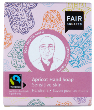 FAIR SQUARED Handsoap Fatima Apricot 2x80gr.