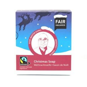 FAIR SQUARED Christmas Soap 2 x 80g