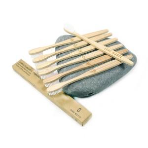 FAIR SQUARED Bambus-Zahnbürste