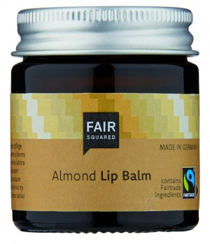 FAIR SQUARED Lip Balm Almond 20gr. ZERO WASTE