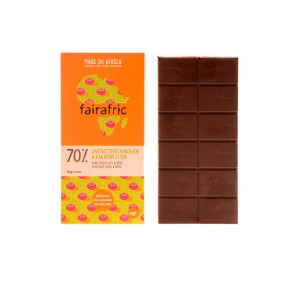 FAIRAFRIC BIO Zartbitter & Splitter 70% 80g