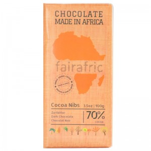 FAIRAFRIC 70% Schokolade Dunkel 100g