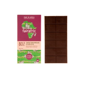 FAIRAFRIC BIO Zartbitter&Salz 80% 80g
