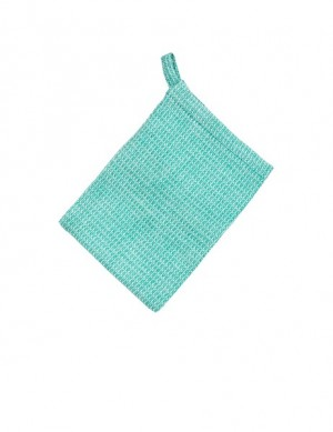 Waschhandschuh turquise