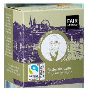 FAIR SQUARED Basler Bierseife mit Bio Unser Bier