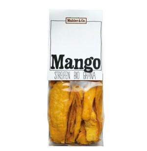 Mahler & Co. Mango Streifen Beutel 125g