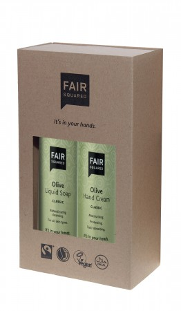 FAIR SQUARED Beauty Box Olive