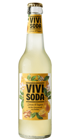 VIVI SODA ZITRONE & INGWER