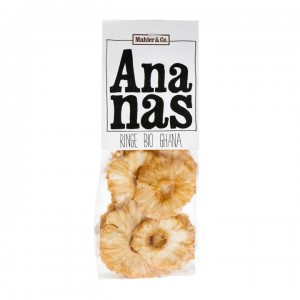 Mahler & Co. Ananas Ringe Beutel 125g