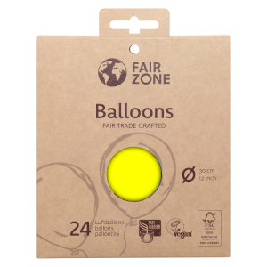 FairZone Ballon Gelb 24pc.