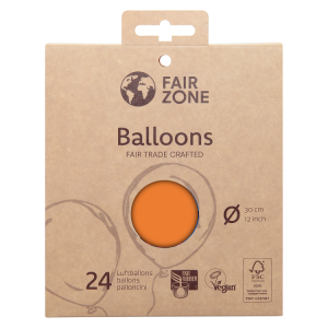 FairZone Ballon Orange 24pc.