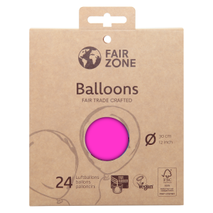 FairZone Ballon Pink 24pc.