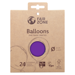 FairZone Ballon Violett 24pc.