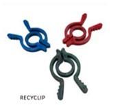 FAIR ZONE RecyClip Verschluss-/Wäscheklammern 3er