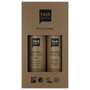 FAIR SQUARED Beauty Box Coconut