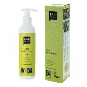 Fair Squared Light Body Lotion Lime 250ml