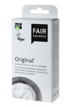 Fair Squared Condoms Original² - 10 pack - vegan