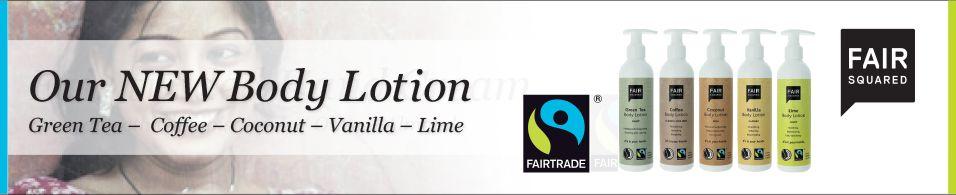 fair traded body lotion